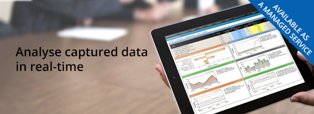 Analyse captured data in real-time