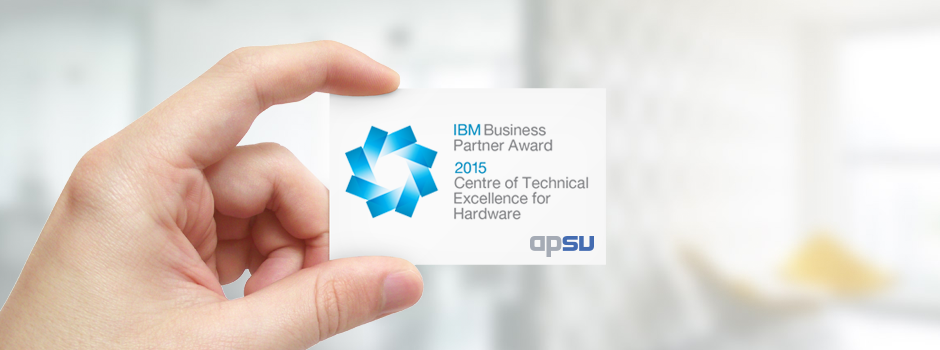 APSU awarded IBM Centre of Technical Excellence Award for Business Partners – 2015