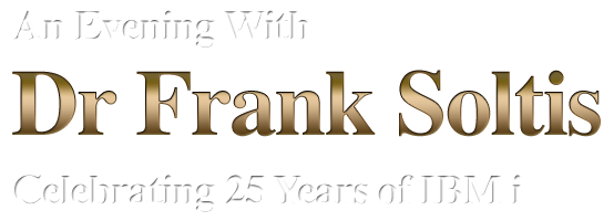An Evening with Dr Frank Soltis